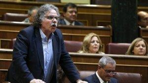 Joan Tardà, al Congrés dels Diputats