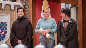 Jordi Cruz amb una indumentària que recorda moltíssim a la de Frodo Bolson, protagonista del 'Senyor dels Anells'