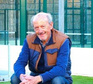 Jordi Fau, president del Club Bellaterra, a les instal·lacions del Club