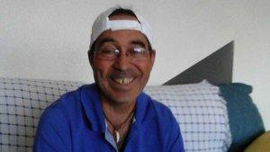 José Antonio Romao meses antes de la brutal agresión.