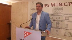 Juan Carlos Sánchez, portaveu de C's a l'Ajuntament de Reus