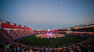 La inauguració dels Jocs Mediterranis a Tarragona en imatges
