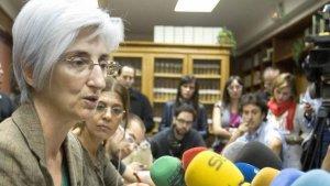 La nova Fiscal General de l'Estat, María José Segarra
