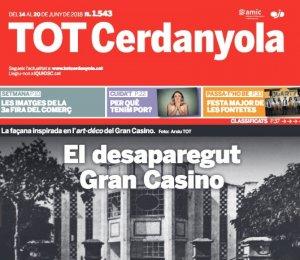 La portada del TOT 1543