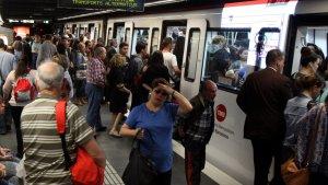 Imatge d'arxiu del Metro de Barcelona