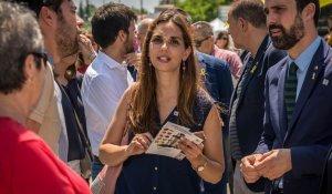Ana López la inauguració de la Fira Multisectorial a Cambrils 2018