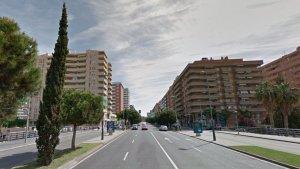 Les reparacions s'efectuen a l'avinguda Roma