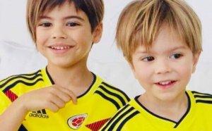 Milan i Sasha, amb Colòmbia