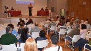 Presentació del projecte als veïns i comerciants del carrer de Pere Badia