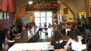 Primera comissió d'igualtat de la Coordinadora celebrada a Vilanova