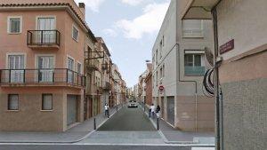 Projecte de reforma vial del carrer Alt de Sant Pere