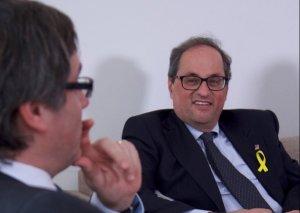 Quim Torra i Carles Puigdemont