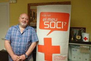 Santiago Morera, president de l'Assamblea de la Creu Roja Cerdanyola-Ripollet-Montcada