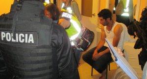 Una altra imatge de les detencions