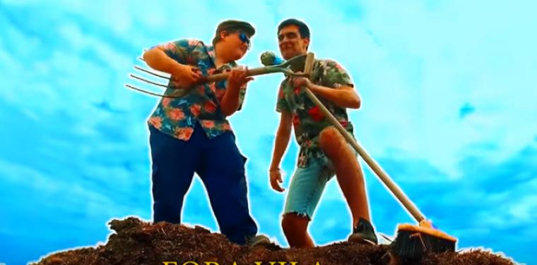 Captura del vídeo «A Fora Vila»