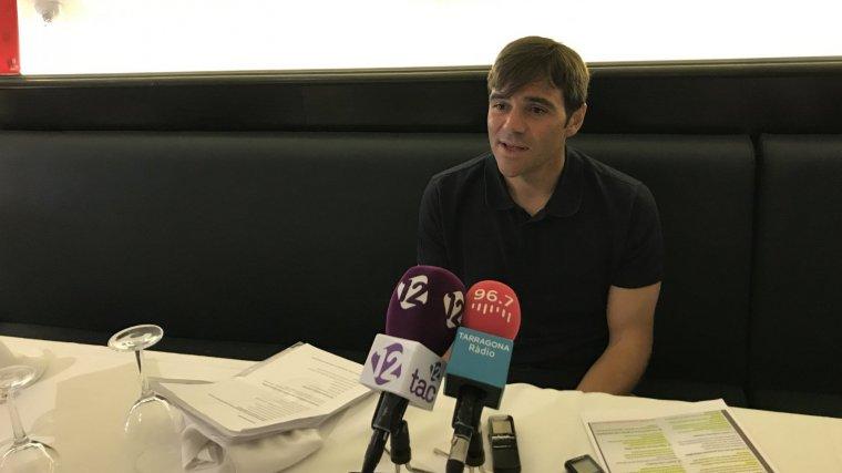 Dídac Nadal, candidat del PDECat a l'alcaldia de Tarragonaq