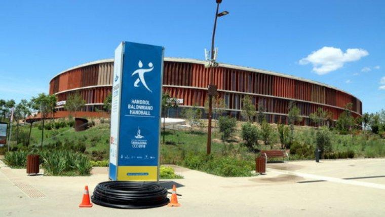 El Palau d'Esports a l'Anella Mediterrània de Campclar
