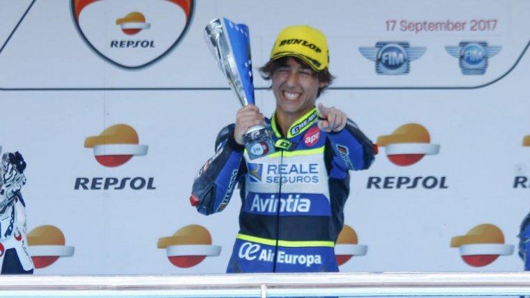 Imatge d'arxiu d'Andreas Pérez, celebrant una victòria