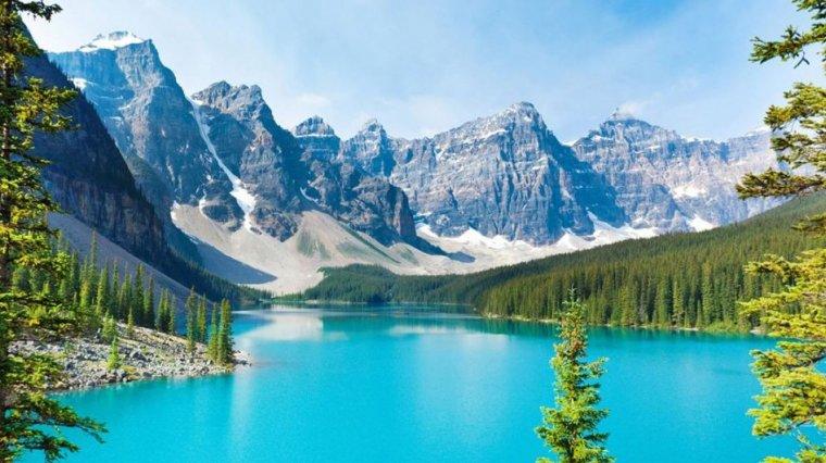 Imatge d'arxiu del parc natural Banff, al Canadà