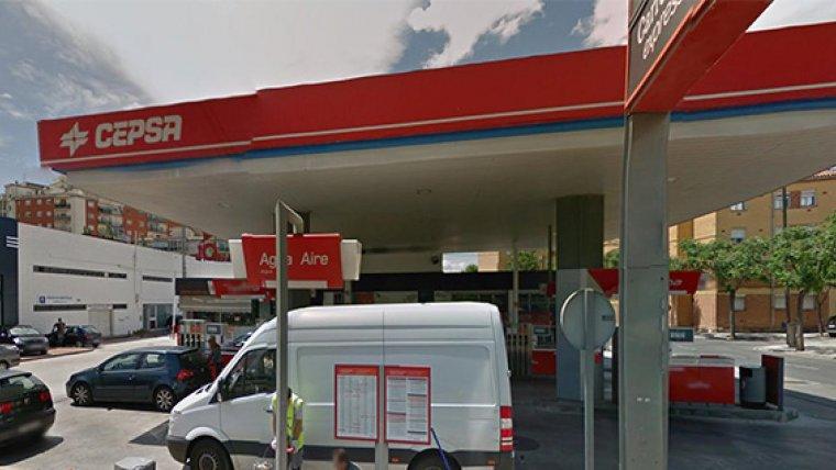 Imagen de archivo de una gasolinera Cepsa
