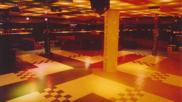 La pista de ball de la discoteca Parchís.