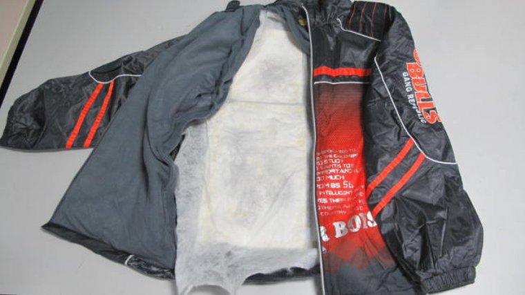 Les planxes amb la cocaïna també estaven ocultes a l'interior de diverses peces de roba