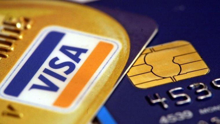 Les targetes Visa, en una imatge d'arxiu