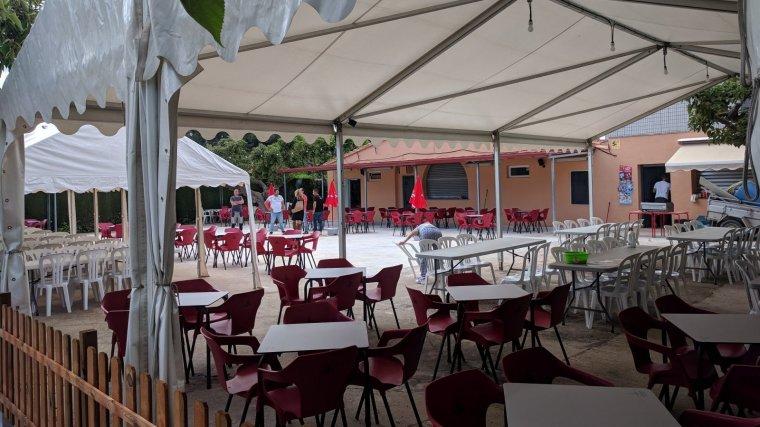 També s'ha ampliat la terrassa del bar i la zona de lleure.