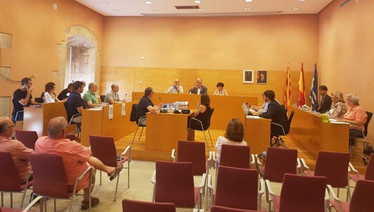 Una imatge de la sessió plenària d'aquest dijous, 21 de juny.