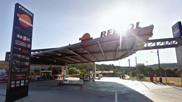 Imagen de archivo de una gasolinera Repsol