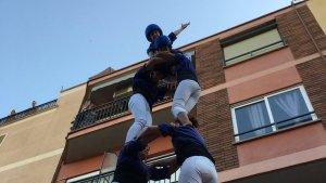 2de6 dels Brivalls de Cornudella a la Festa Major del barri barceloní del Carmel
