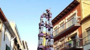 5de9 amb folre de la Jove de Tarragona a Torredembarra