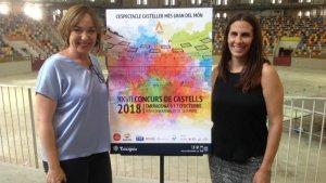 Aina Mallol és l'autora del cartell del 27è Concurs de Castells de Tarragona