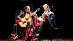 Anabel Montesinos, que actuarà de nou aquest any, junt amb un altre músic, a l'edició anterior del Festival Internacional de Guitarra.