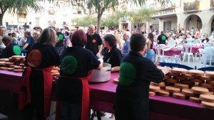 Arriba l'Aplec del Romesco, la festa gastronòmica per excel·lència de Santa Coloma de Queralt