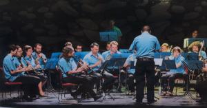Concert de Rubí Musical s.XXI durant la Festa Major
