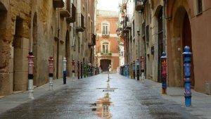 El carrer del Comte.