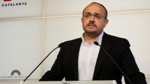 El diputat i líder del PP a Tarragona, Alejandro Ferndández, en una imatge d'arxiu.