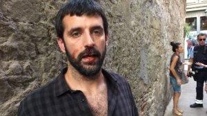 El fotoperiodista Jordi Borràs ha estat agredit per un home que s'ha identificat com a policia nacional