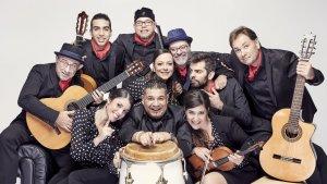 El grup de rumba catalana Sabor de Gràcia actuarà el 14 de juliol a Cambrils