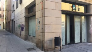 El nou local de La Turba al carrer de la Zeta.
