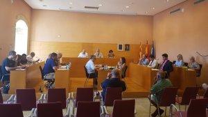 El ple de Torredembarra, reunit en la seva sessió ordinària del mes de juliol.