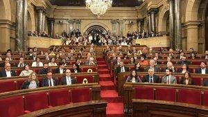 El ple del parlament, aquest dijous, 22 de maig