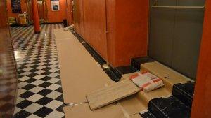 El Teatre Fortuny està realitzant tota una sèrie d'obres per millorar alguns espais de l'edifici
