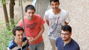 Els investigadors del Grup de Recerca d'Arquitectura i Serveis Telemàtics de la URV.