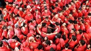 Els Nens, avui, homenatjats a Tarragona.