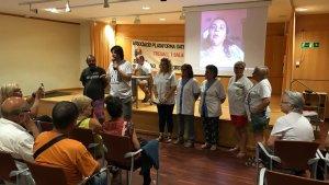 En l'estrena del documental «Pactes de Silenci», hi van acudir antigues treballadores de la Residència Montemar de Cambrils.