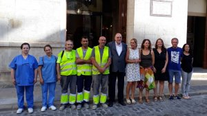 En total, el programa 'Treball als Barris' ha suposat la contractació de 8 persones