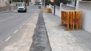 Endesa ha finalitzat recentment les obres de millora d'una línia subterrània de Torredembarra