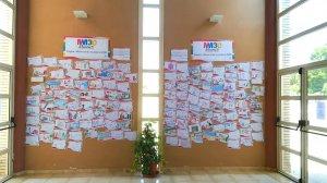 Exposició dels dibuixos presentats al Pla Estratègic Mont-roig Miami 2030
